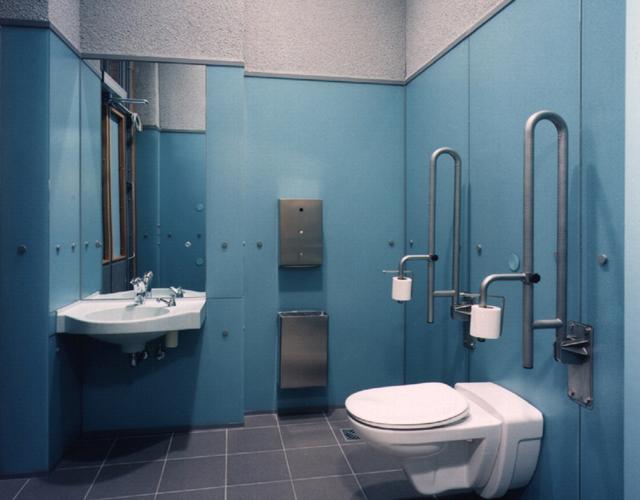 Hygiene center deutsche bahn oedekoven design for Innenarchitektur nrw